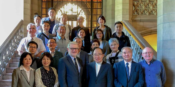 Korean Christian Church in Japan ministers meet at Knox College