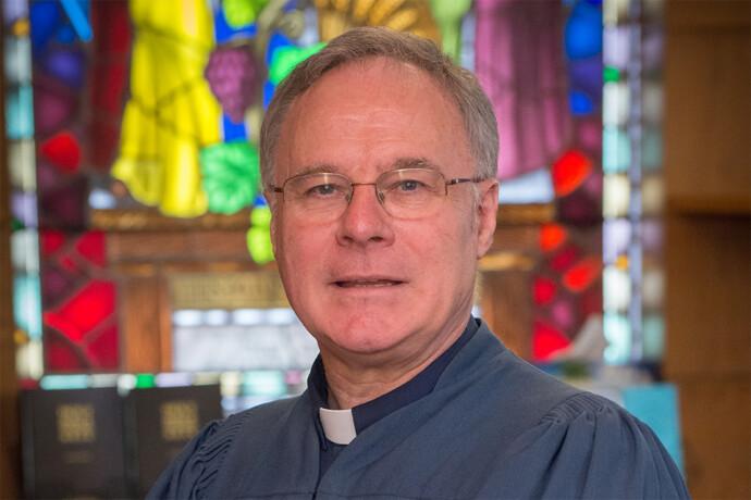 Photo of Rev. Dr. Clyde Ervine